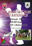 XXI. ročník - Hasičský ples DHZ Batizovce 1